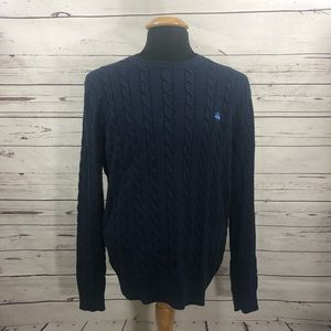 Brooks Brothers Supima Cotton Cable Knit Sweater